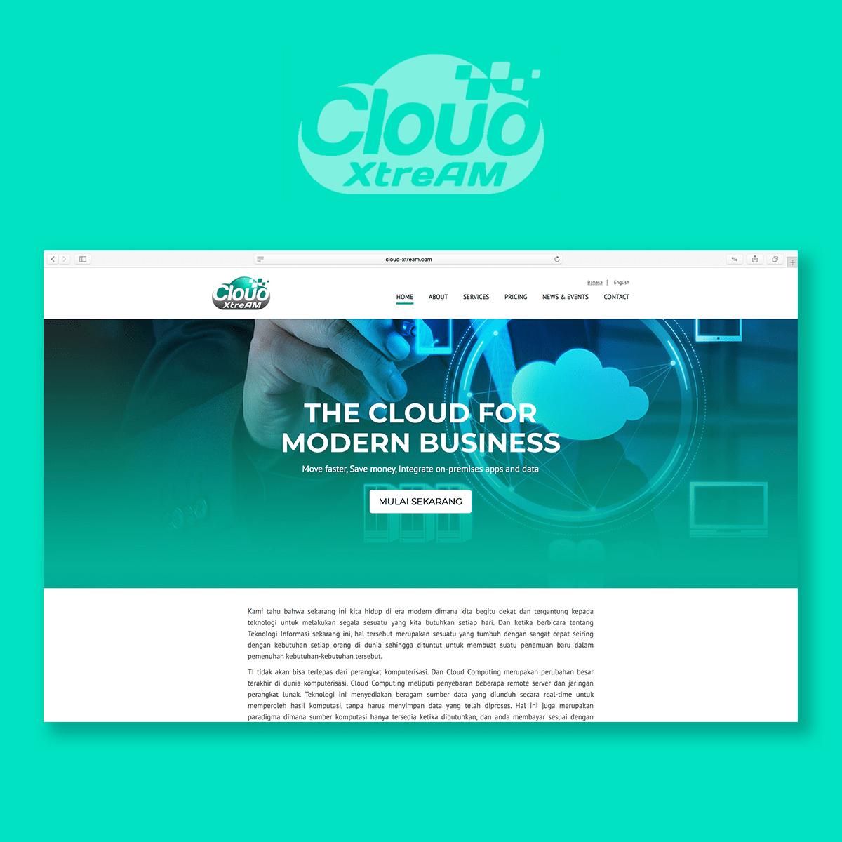 Cloud XTreAM Website Development